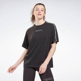 パイピング Tシャツ / Piping T-Shirt (ブラック)