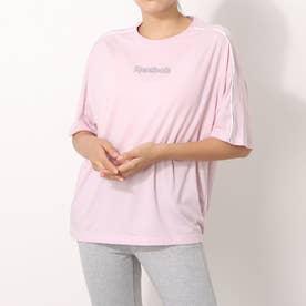 パイピング Tシャツ / Piping T-Shirt (ピンク)