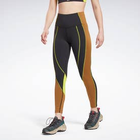 Lux ハイライズ カラーブロック レギンス / Lux High-Rise Colorblock Leggings (ブラック)