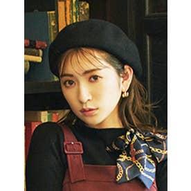 ブラッシュベレー帽(ブラック)