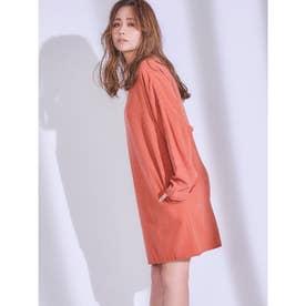 【IS】カットオフミニワンピース (オレンジ) 【ISANA YAMAMOTO(山本 いさ奈) produce ITEM】