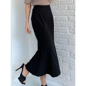 ストレッチマーメイドスカート (ブラック)