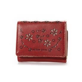 RGS-5702 クローバーミニ財布 レッド (レッド)