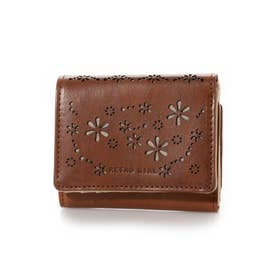 RGS-5702 クローバーミニ財布 コゲチャ (こげ茶)