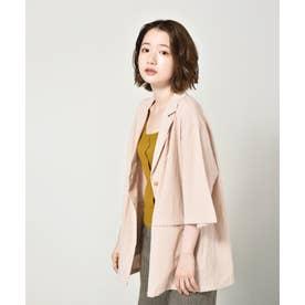 リネンライクシャツジャケット (エクリュ)
