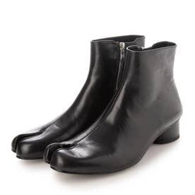 SFW レザー足袋ブーツ ファスナータイプ/9941 (ブラック)
