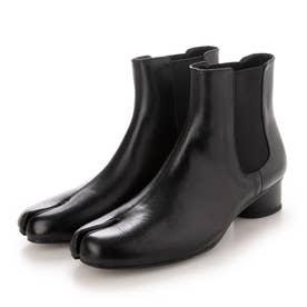 SFW レザー足袋ブーツ サイドゴアブーツタイプ/9942 (ブラック)