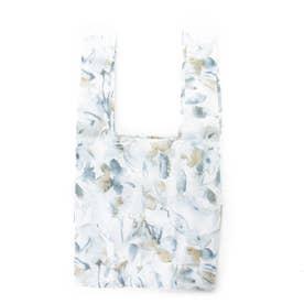 FLOWER PRINT ECO BAG (ブルー)