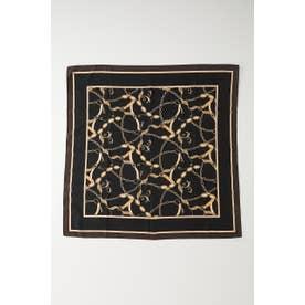Figaro chain scarf BLK