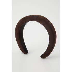 Faux suede Headband BRN