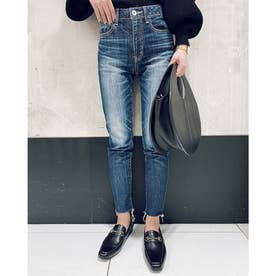 Soft fit J/W ankle DENIM PT (ブルー)