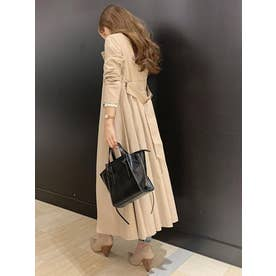 Side pleats trench CT L/BEG1
