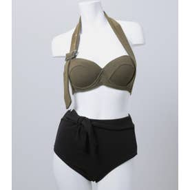 Halter BELT Bandeau cup bikini KHA