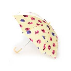 スミレプリント傘 (イエロー)