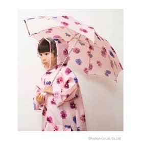 スミレプリント傘 (ピンク)