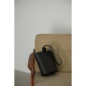 One handle bucket mini bag BLK