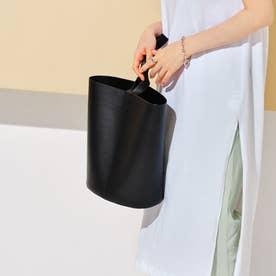 One handle bucket bag BLK