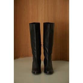 Noble leather long boots BLK
