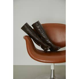 Noble leather long boots BRN