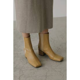 Square toe side gore boots BEG