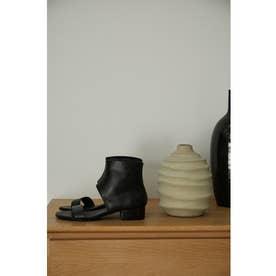 Flat ankle sandal BLK