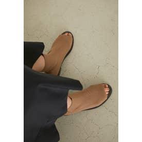Socks bootie sandal BEG