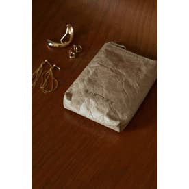 Paper like mini pouch L/BEG1