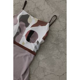 Cubism reversible swim wear 柄PNK5