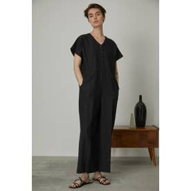 Cotton linen all in one BLK