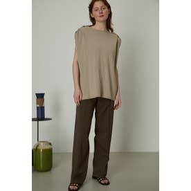 Shoulder lifting knit tops L/BEG1