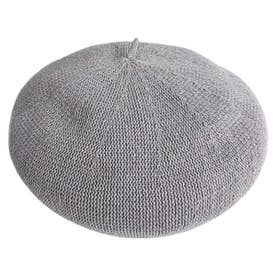 KIDS COTTON THERMO BERET (GRAY)