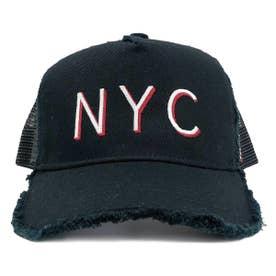 KIDS DAMAGE CODE MESH CAP (BLACK)