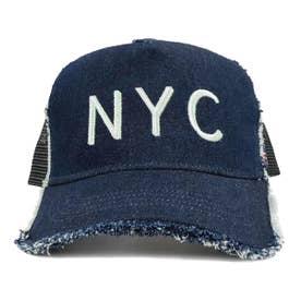 KIDS DAMAGE CODE MESH CAP (INDIGO)