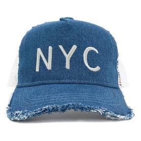 KIDS DAMAGE CODE MESH CAP (BLUE)