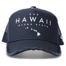 HAWAII DAMAGE MESH CAP (NAVY)