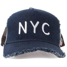DAMAGE CODE MESH CAP (INDIGO)