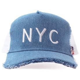 DAMAGE CODE MESH CAP (BLUE)