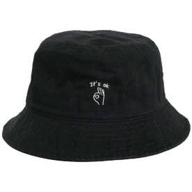 HAND SIGN BUCKET HAT (BLACK)