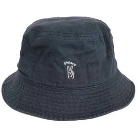 HAND SIGN BUCKET HAT (NAVY)