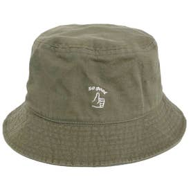 HAND SIGN BUCKET HAT (OLIVE)