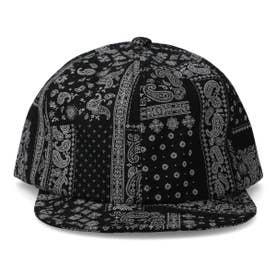 BANDANA SHORT CAP (BLACK)