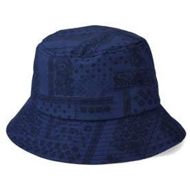 BANDANA BUCKET HAT (BLUE)