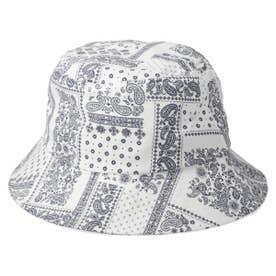 BANDANA BUCKET HAT (WHITE)