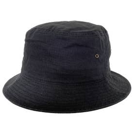 COTTON RIPSTOP BUCKET HAT (BLACK)