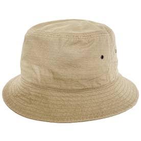 COTTON RIPSTOP BUCKET HAT (BEIGE)