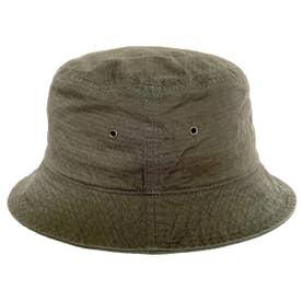 COTTON RIPSTOP BUCKET HAT (OLIVE)