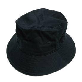 COTTON BOONIE HAT (BLACK)