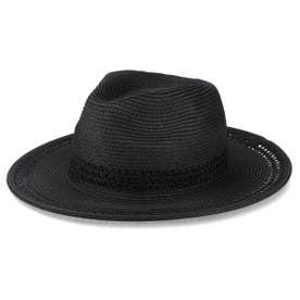 PAPER LONG BRIM HAT (BLACK)
