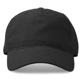 LINEN LOW CAP (BLACK)