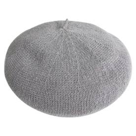 COTTON THERMO BERET (GRAY)